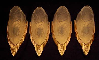 Lincoln Slip Shade Sconces