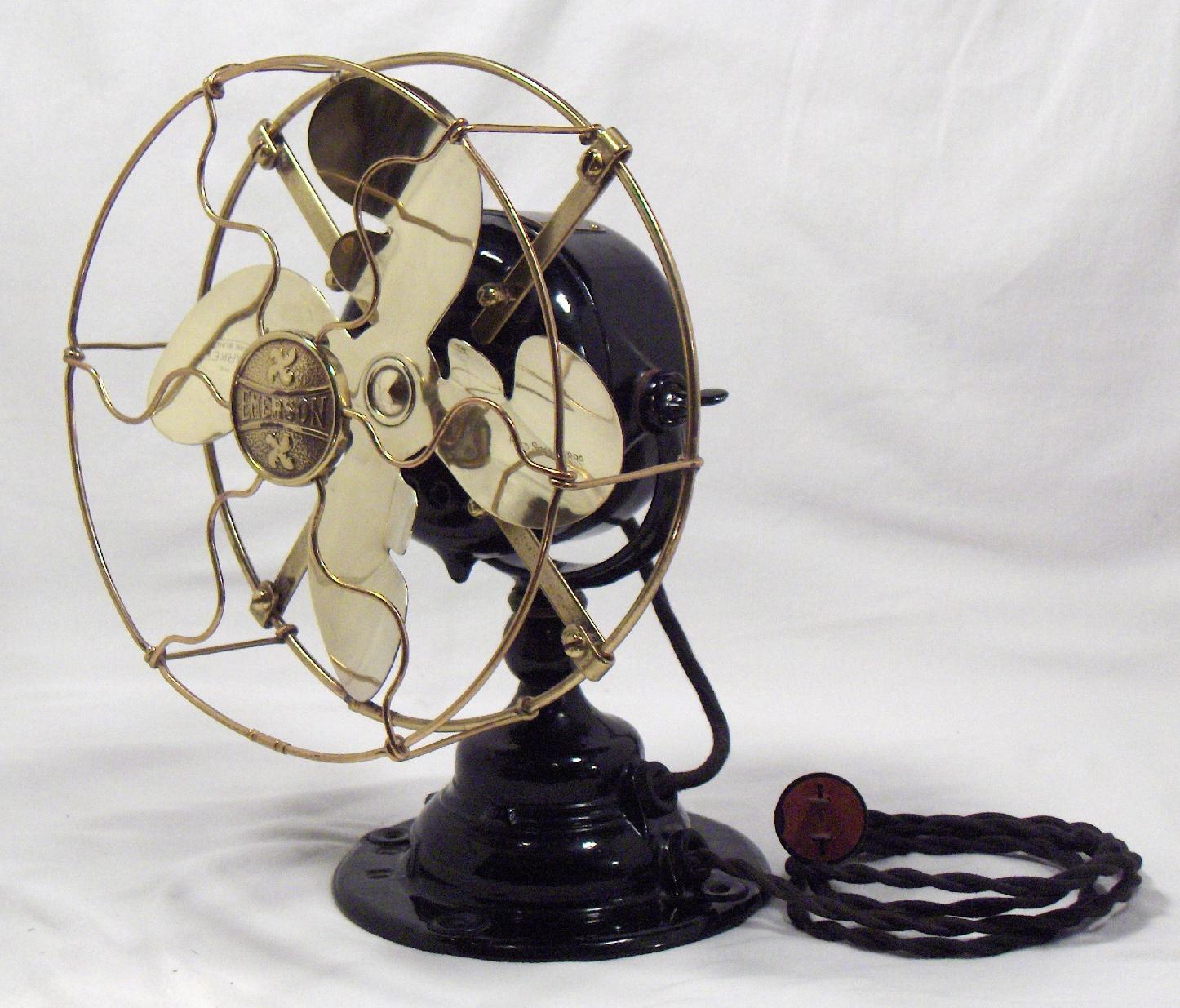 Emerson Desk Fan : Emerson fan model vintage lighting and shoppe