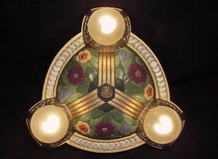 Vintage Art Nouveau Light Fixture